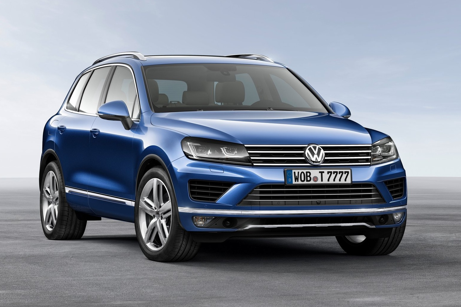 авто новости, Volkswagen Touareg